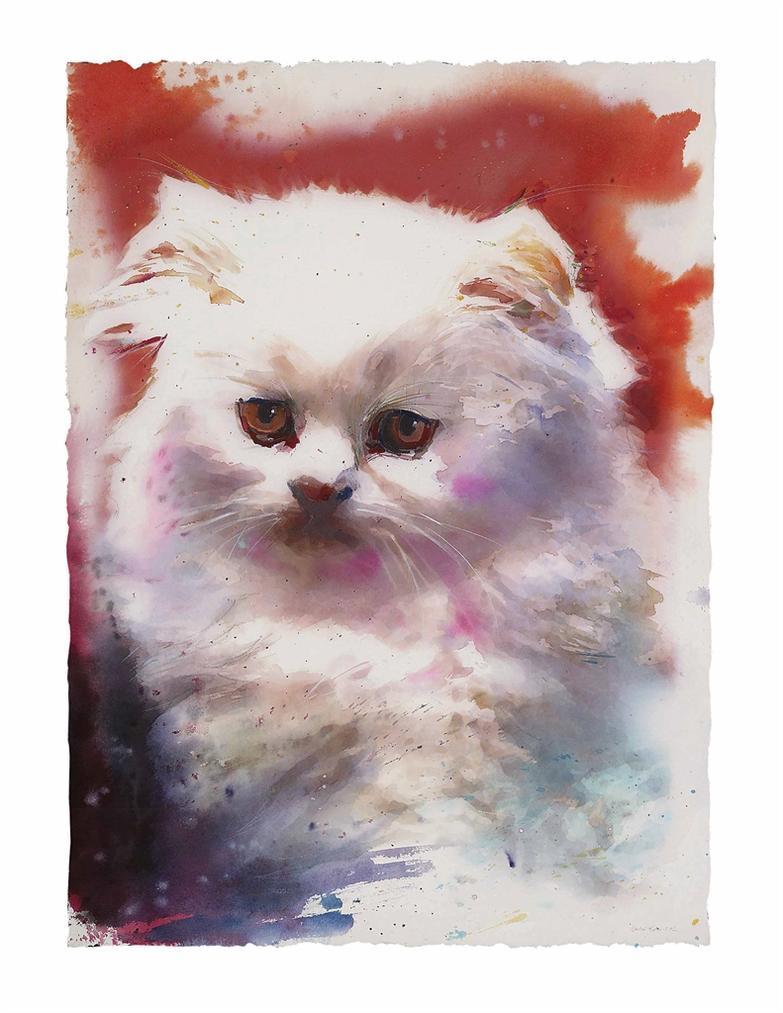 Martin Eder-Untitled (Cat)-2002