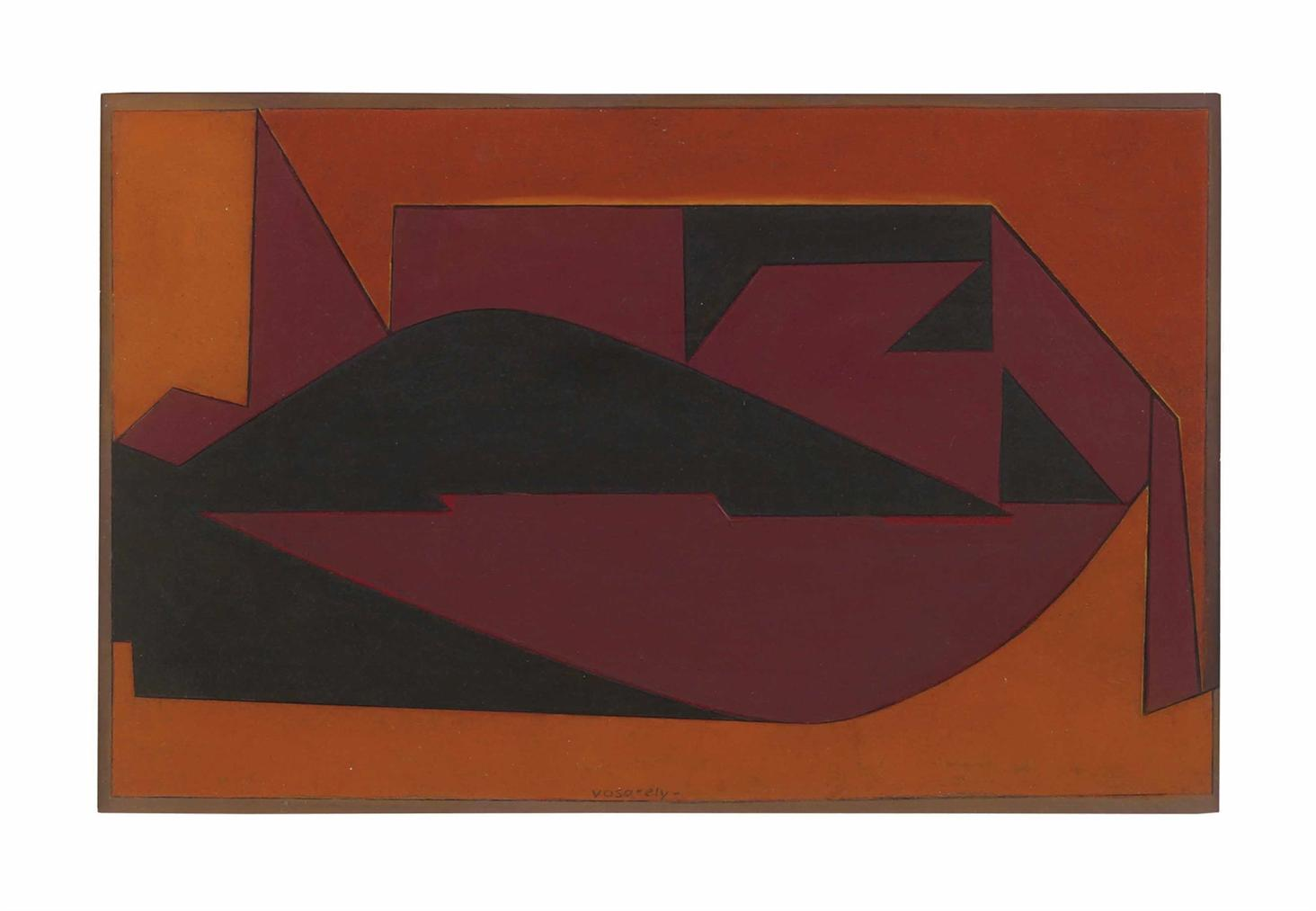 Victor Vasarely-Imbituba C49-1950