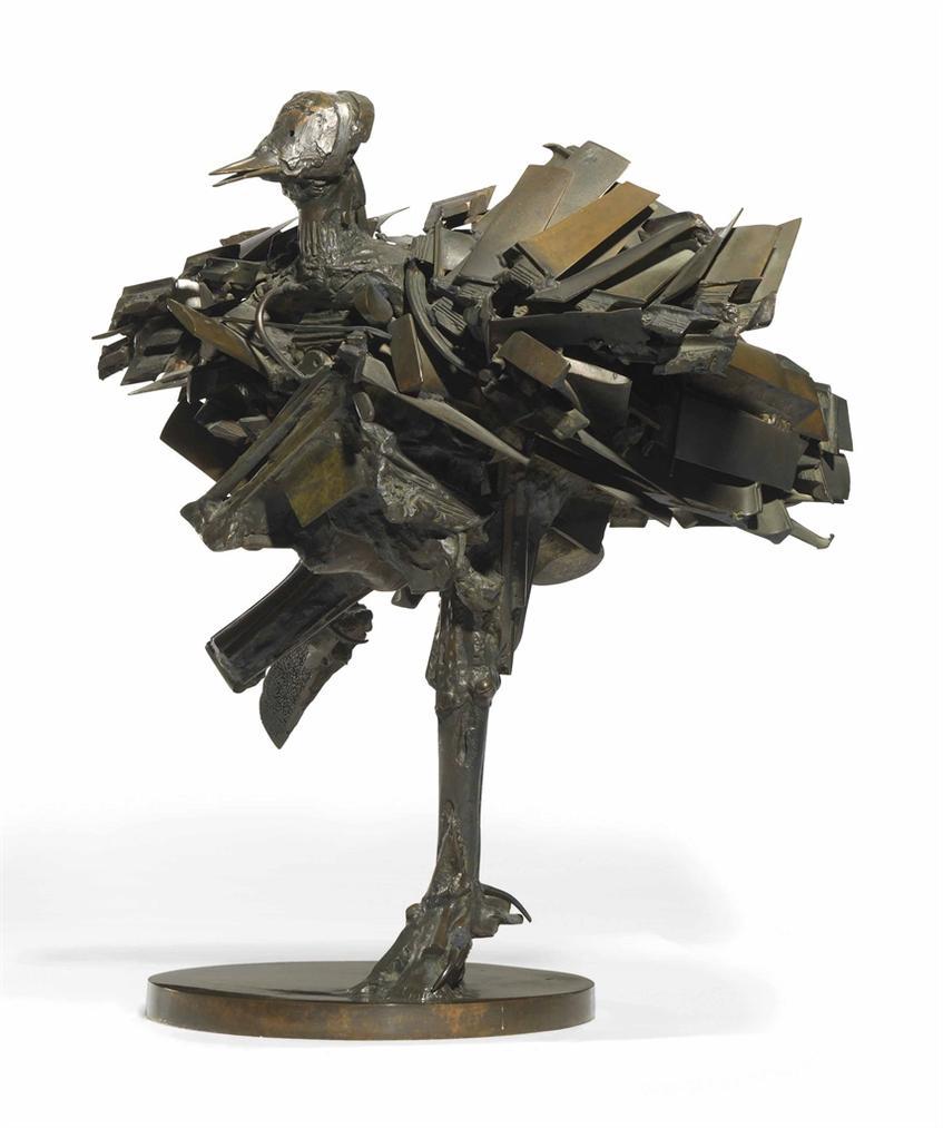 Cesar-Poule A Ailettes (Winged Hen)-1980