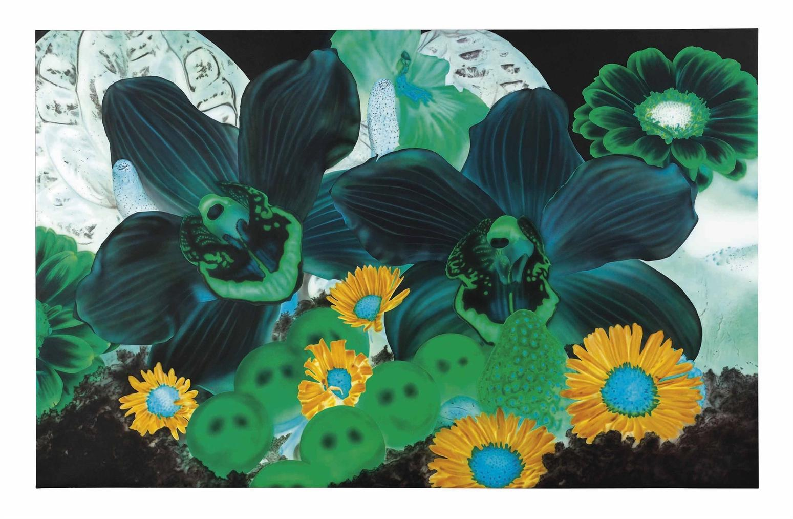 Marc Quinn-Bubble Nebula (In The Night Garden)-2010