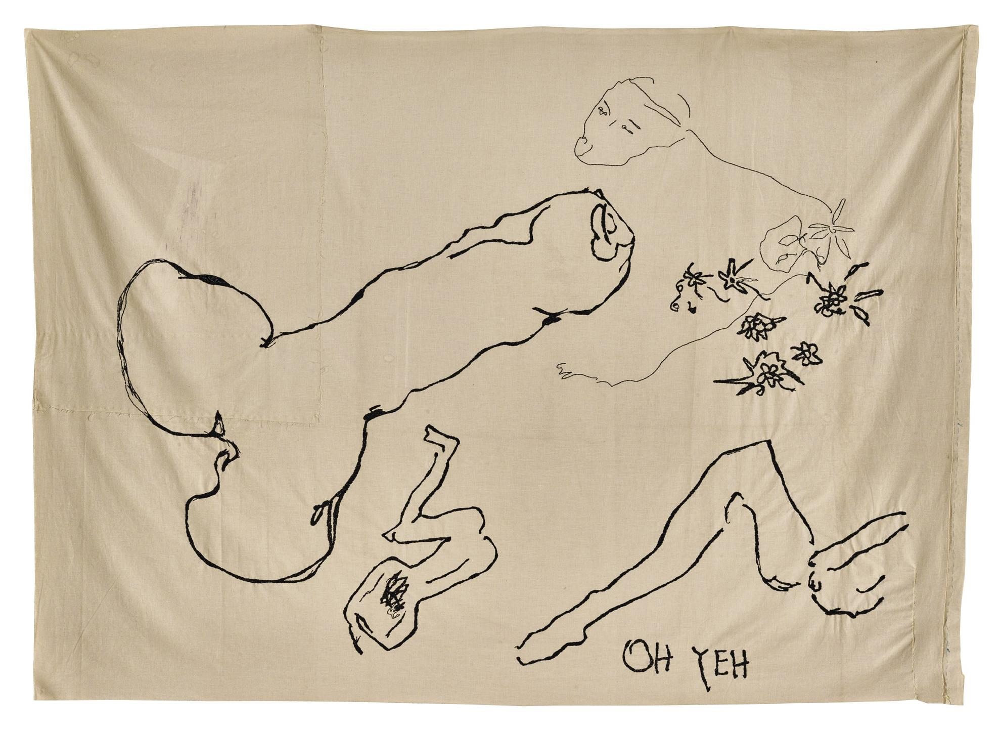 Tracey Emin-Oh Yeh-2001