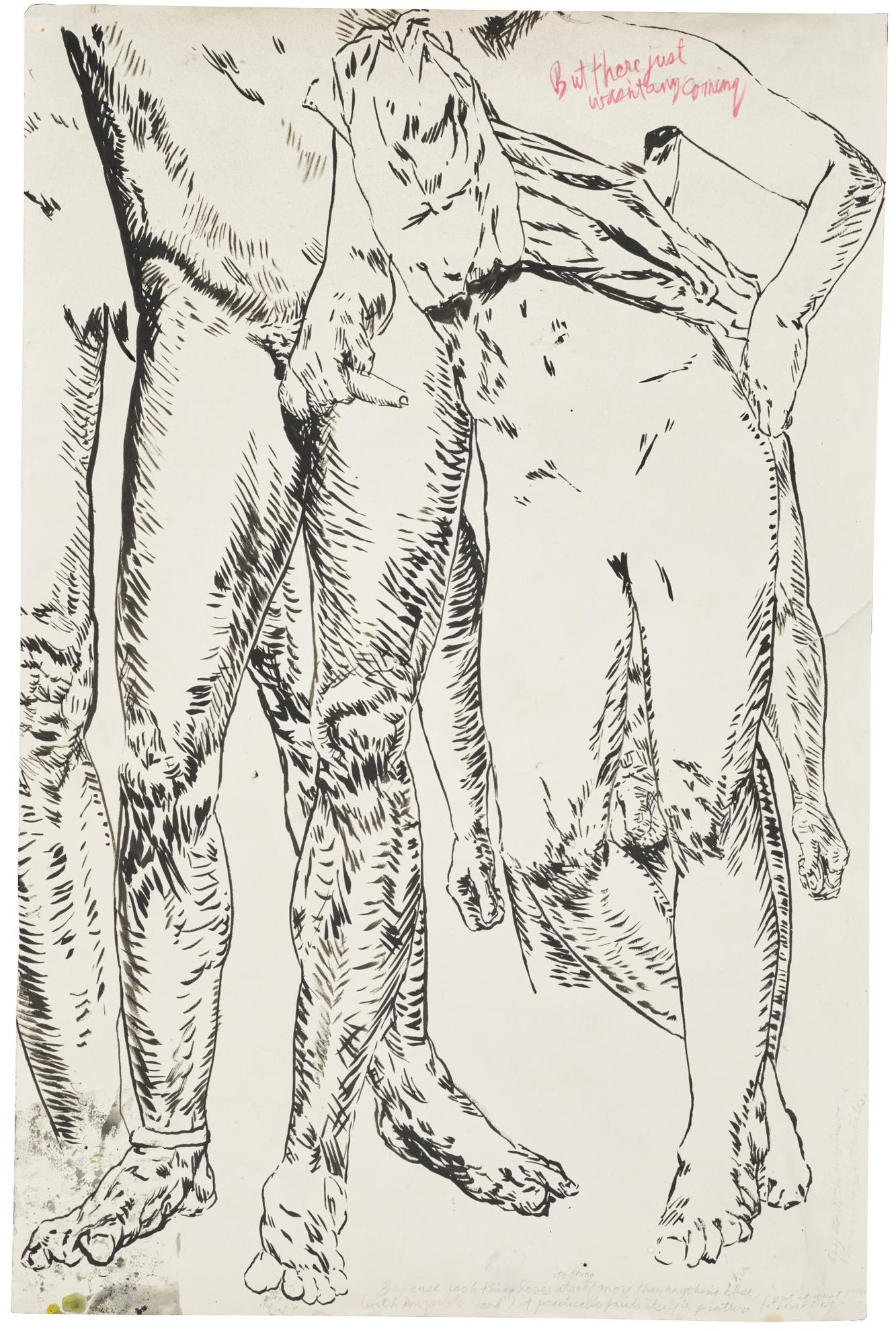 Raymond Pettibon-No Title (But There Were Justs)-2003