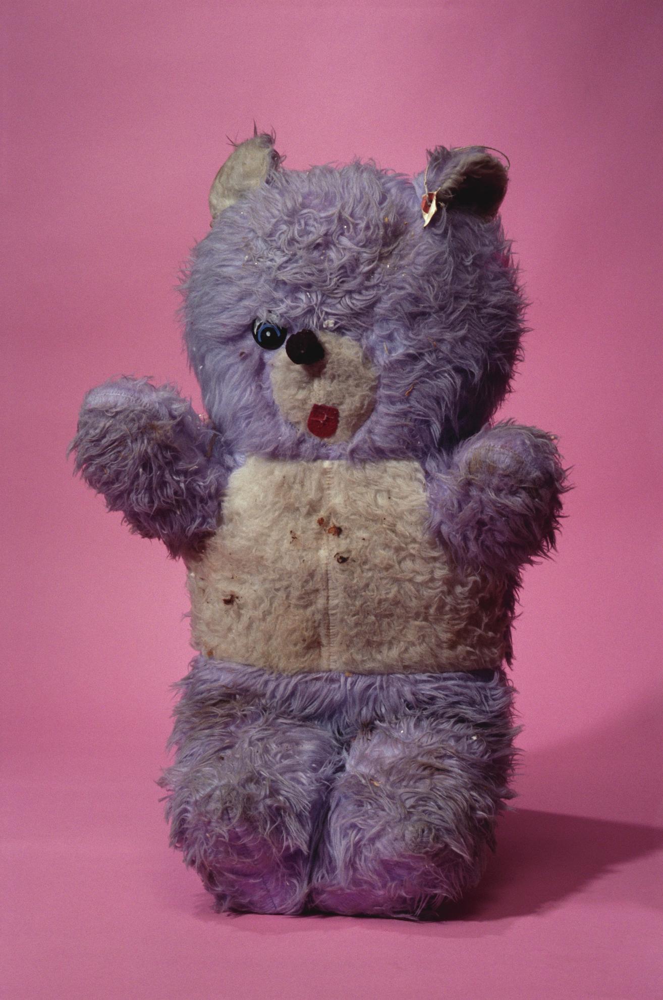 Paul McCarthy-Violet Bear, Pink-2012