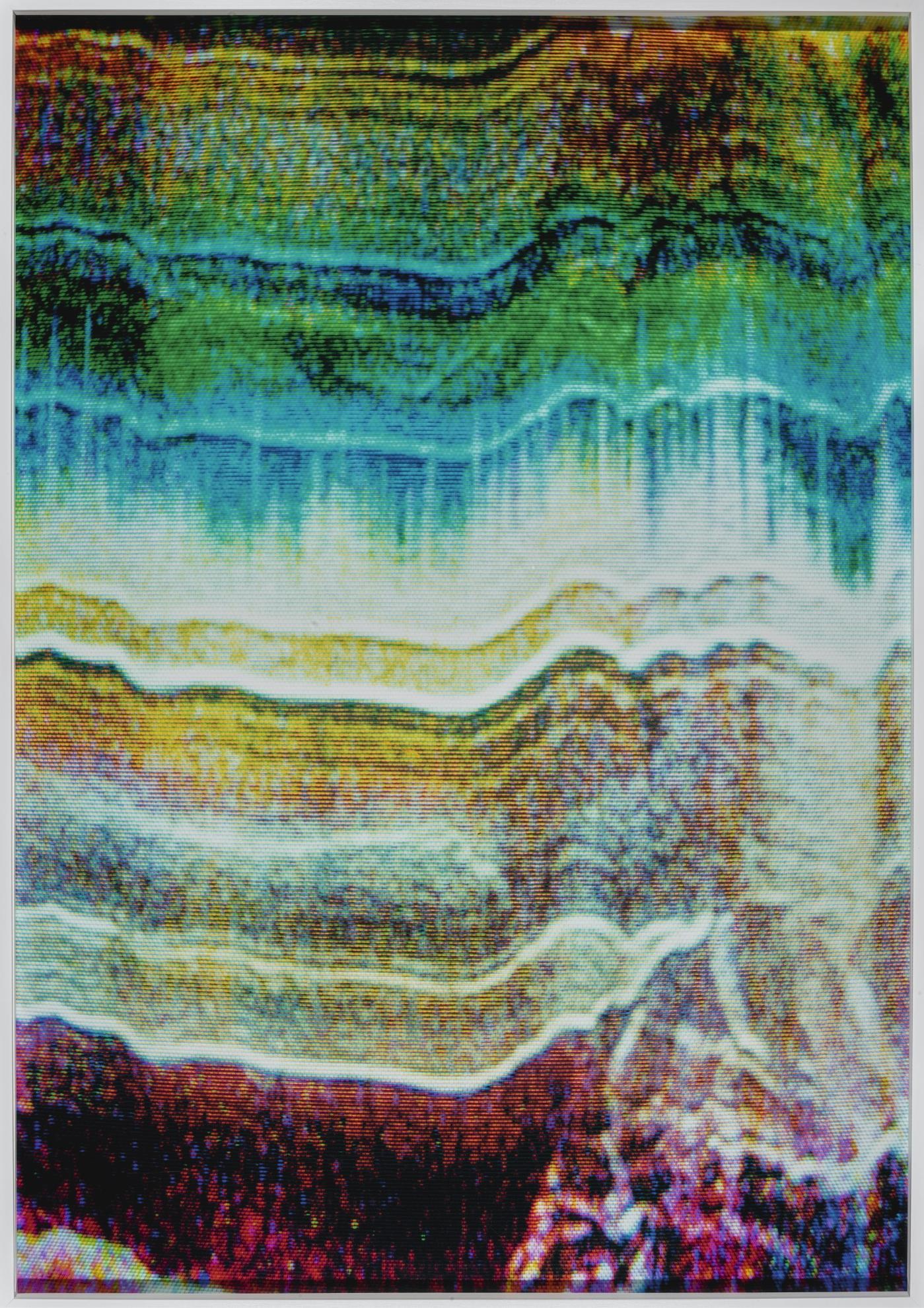Tauba Auerbach-Static 11-2009