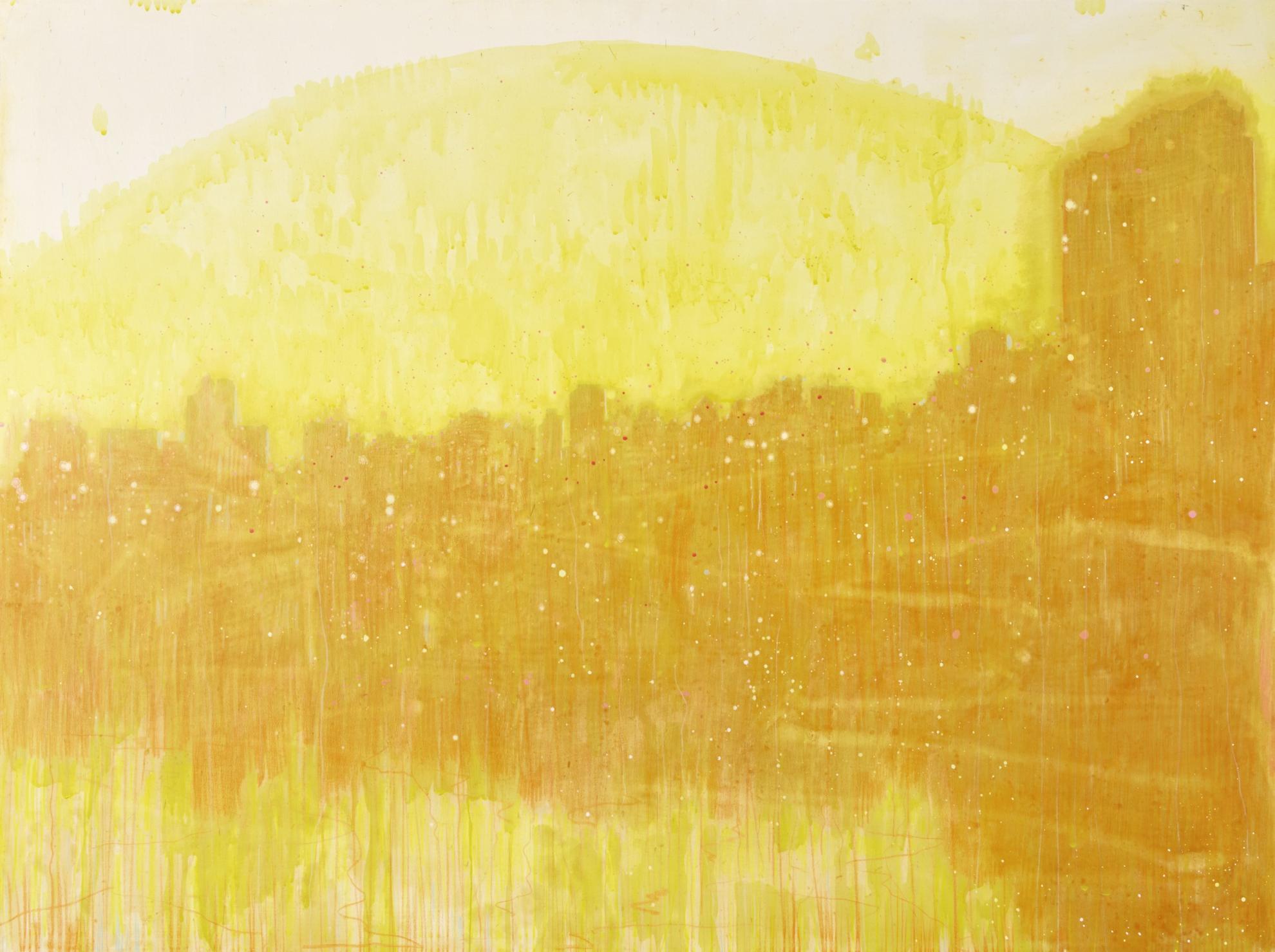 David Korty-Untitled (Orange Skyline)-2002
