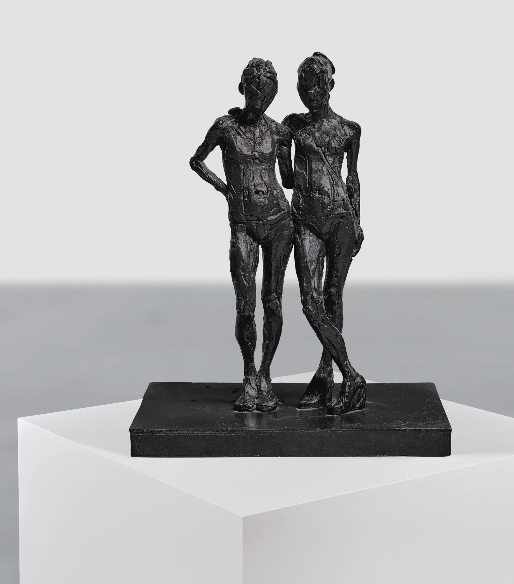 Don Brown-Maquette Pair Of Figures-2004