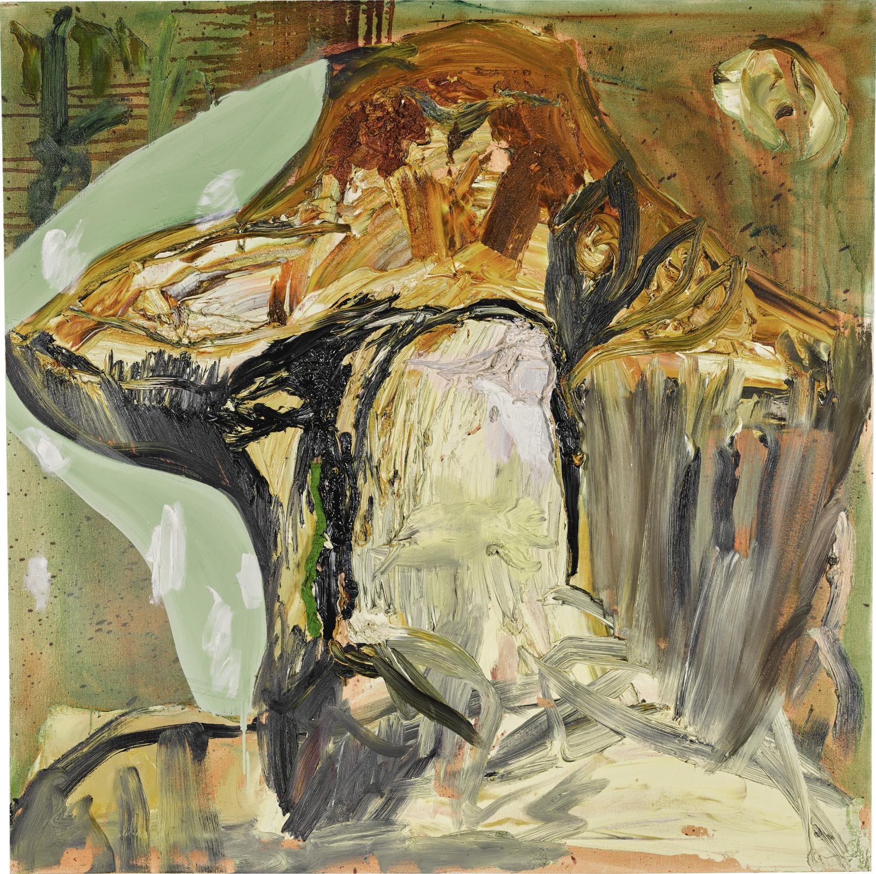 Albert Oehlen-Jonathan Meese-Portrait X-2003