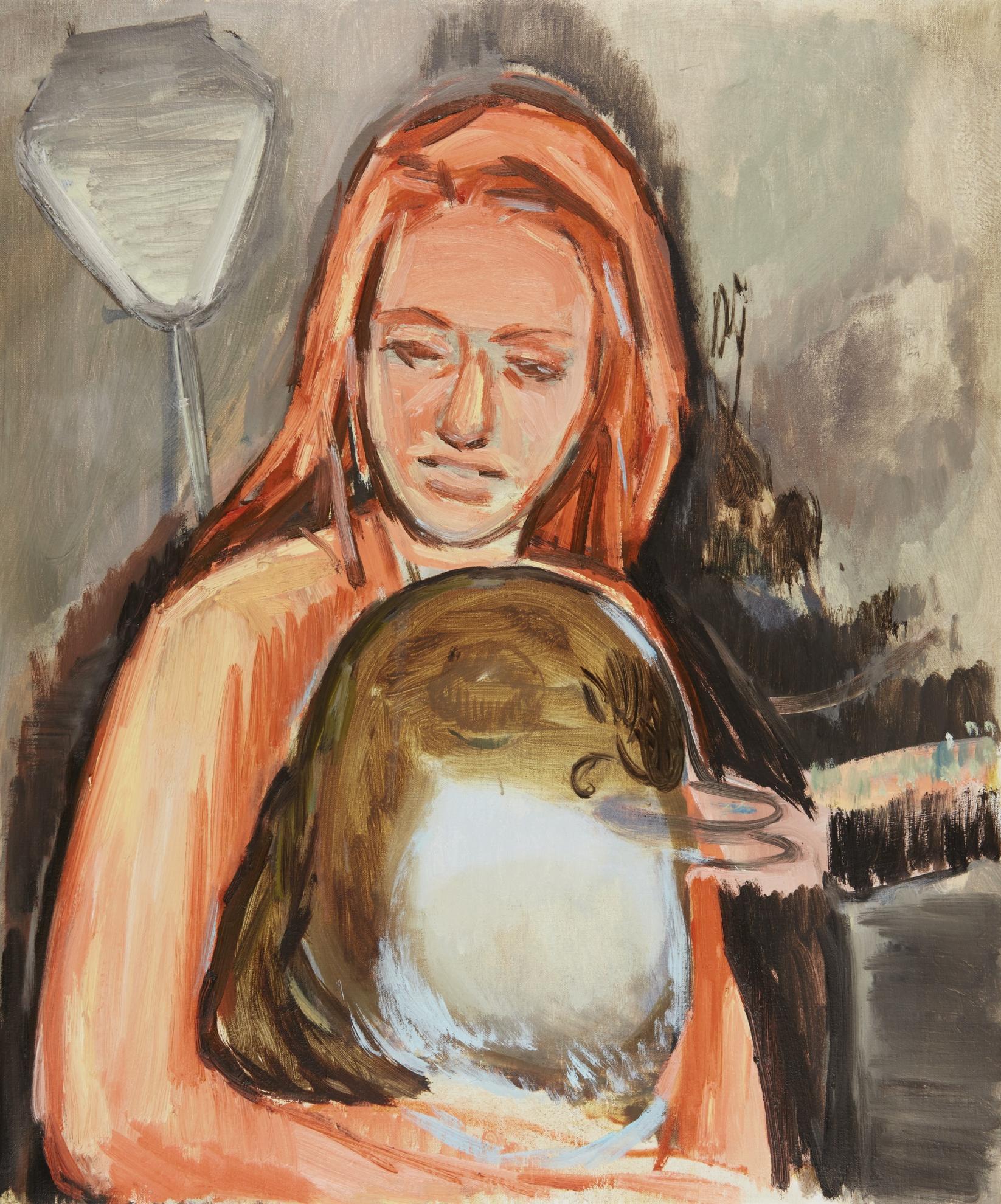 Neal Tait-Orange Girl-2003