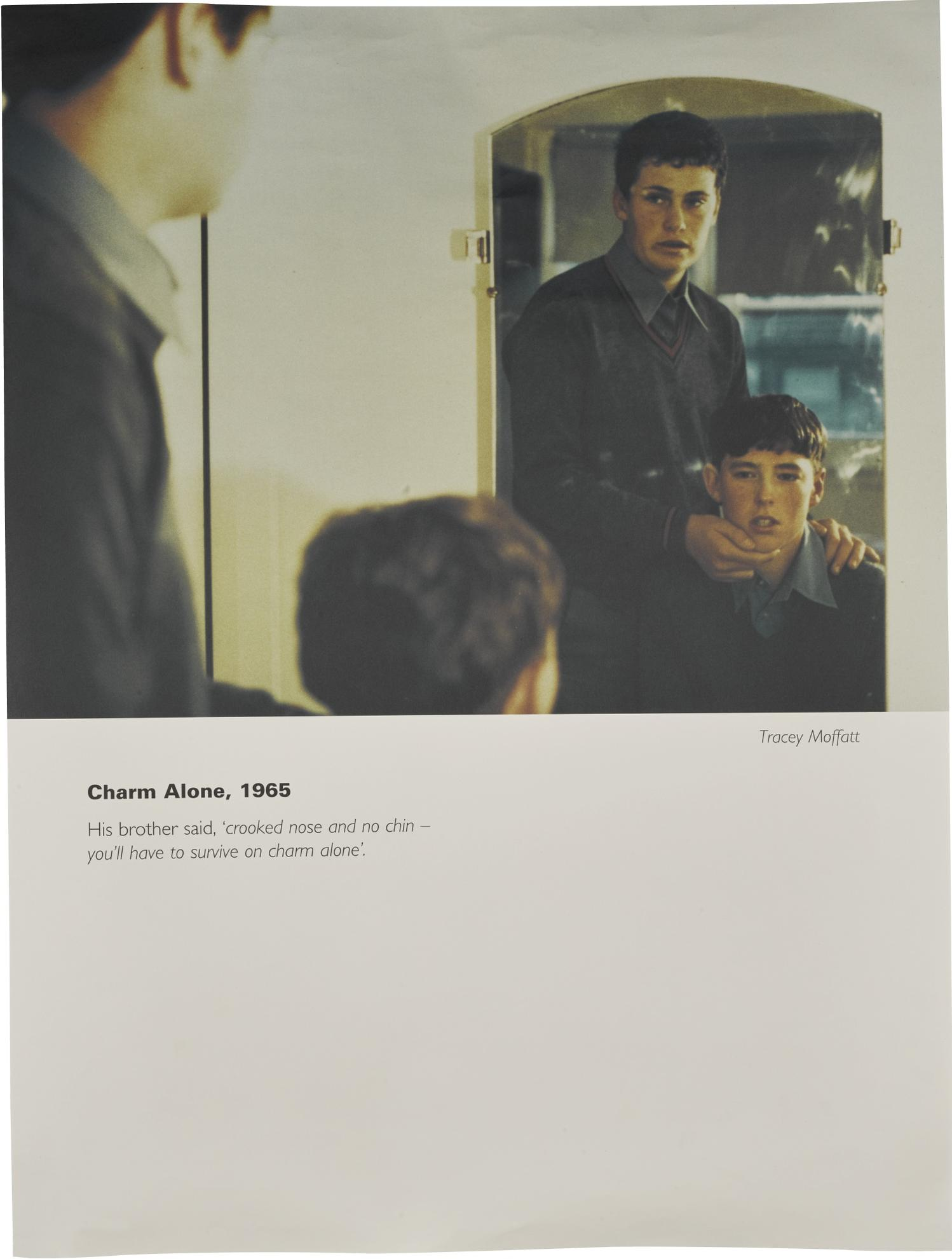 Tracey Moffatt-Charm Alone, 1965 (From The Series Scarred For Life)-1994