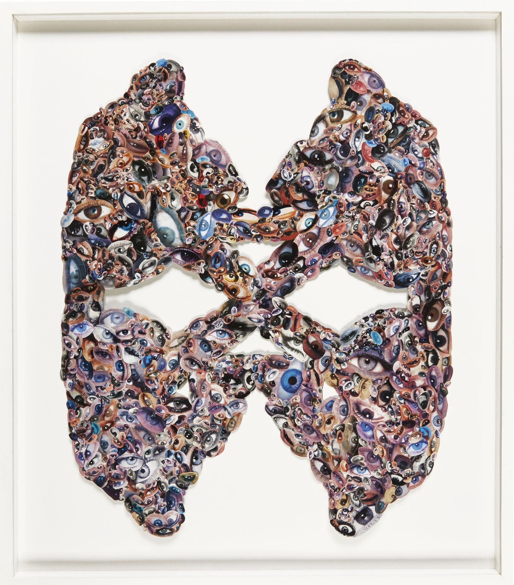 Jim Lambie-Weird Mask-2000