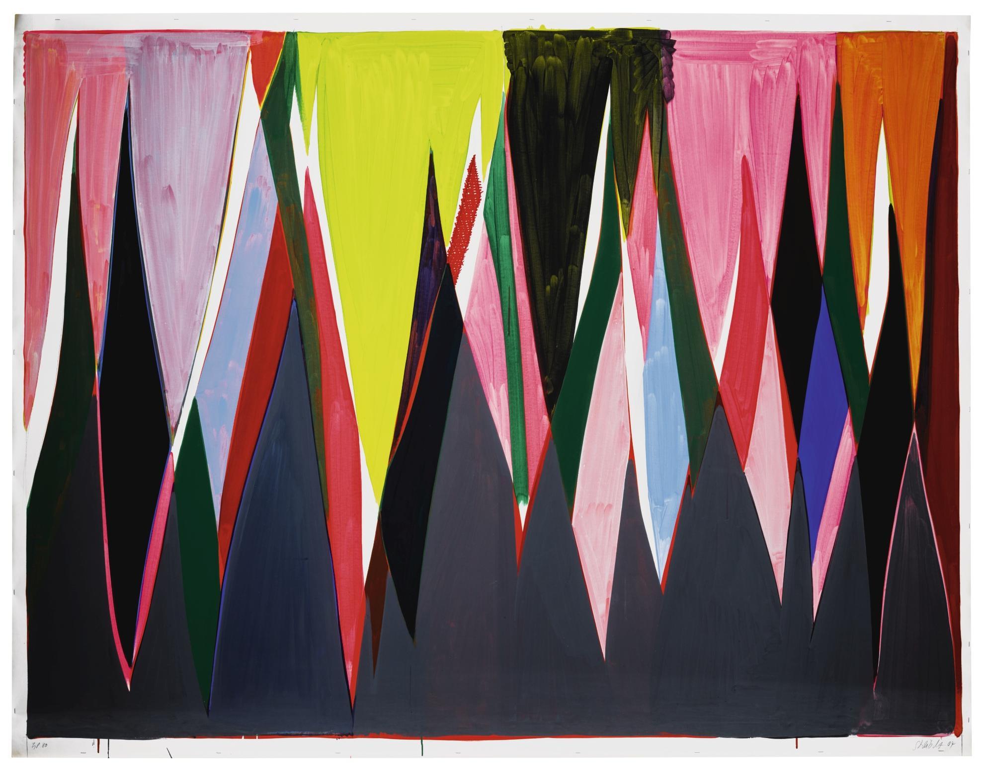 Thomas Scheibitz-Untitled (No. 80)-2004