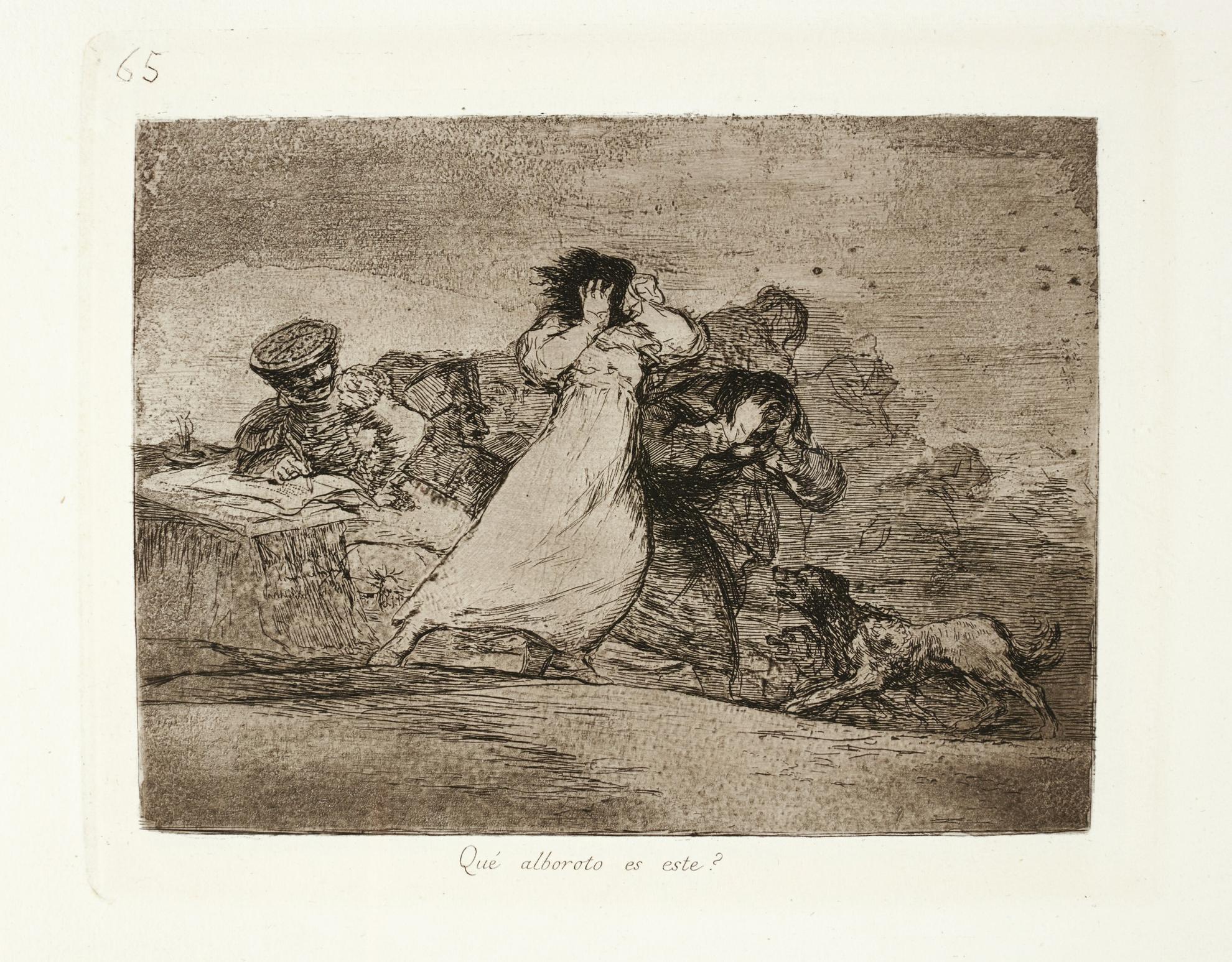 Francisco Jose de Goya y Lucientes - Los Desastres De La Guerra (Delteil 180-189; Harris 181-190)-1863