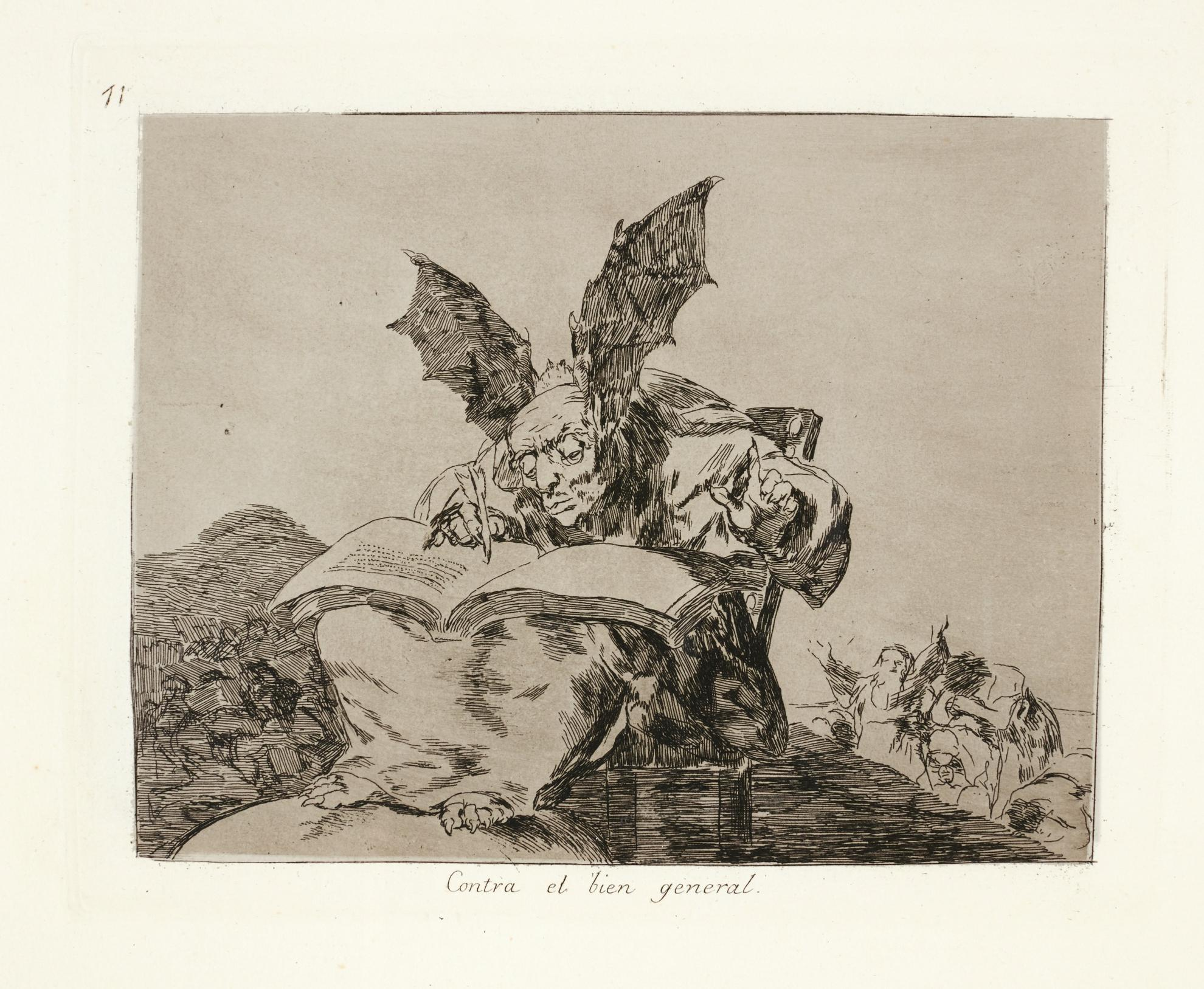Francisco de Goya-Los Desastres De La Guerra (D. 190-199; H. 191-200)-1863