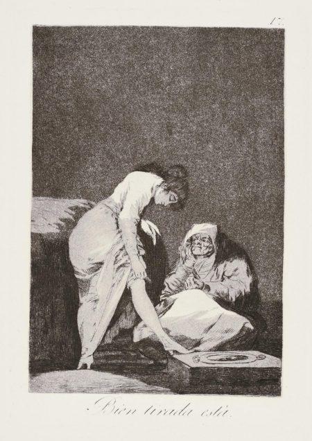 Francisco Jose de Goya y Lucientes - Los Caprichos (D. 38-117; H. 36-115)-1799