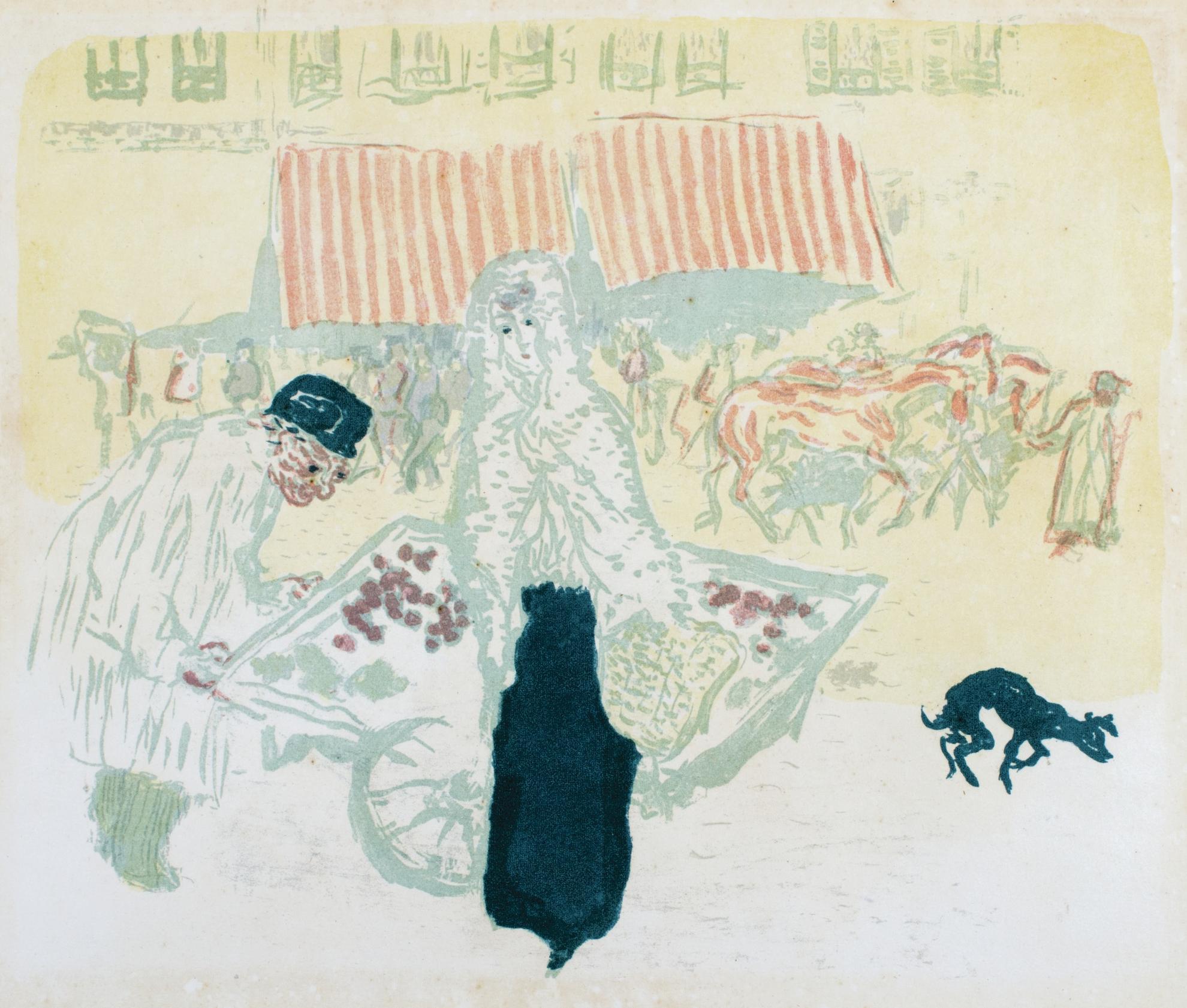 Pierre Bonnard-Le Marchand Des Quatre-Saisons (Bouvet 65)-1899