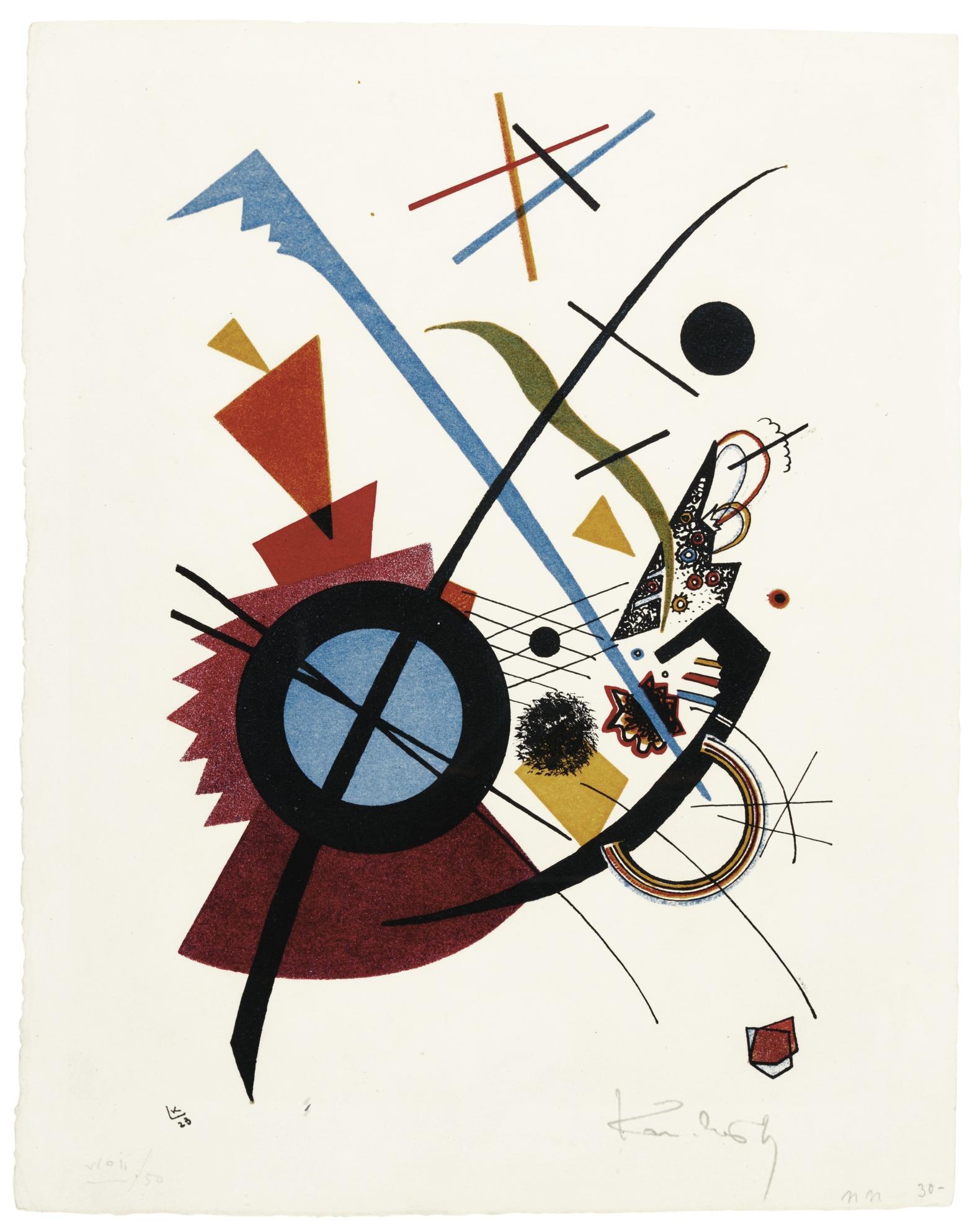 Wassily Kandinsky-Violett (R. 178)-1923