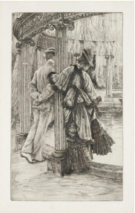 James Jacques Joseph Tissot-Querelle Damoureux (Wentworth 18)-1876