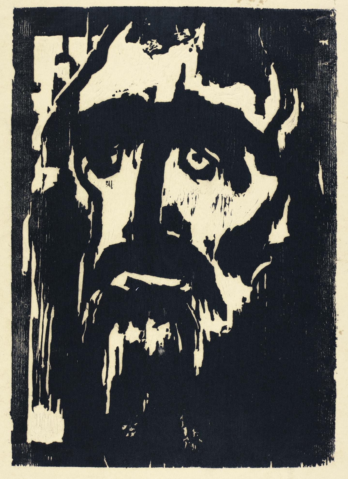Emil Nolde-Prophet (Schiefler H110)-1912