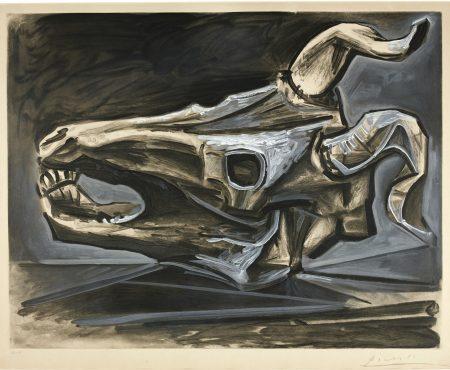 After Pablo Picasso - Crane De Chevre Sur La Table (B. 696; Ba. 903)-1952