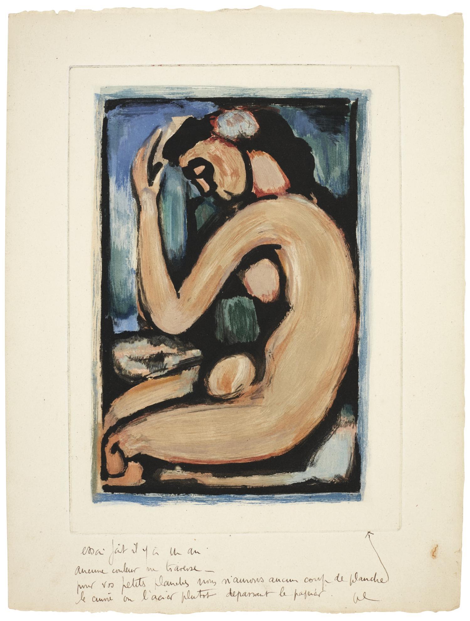 Georges Rouault-Les Fleurs Du Mal (C. & R. 274-285)-1938