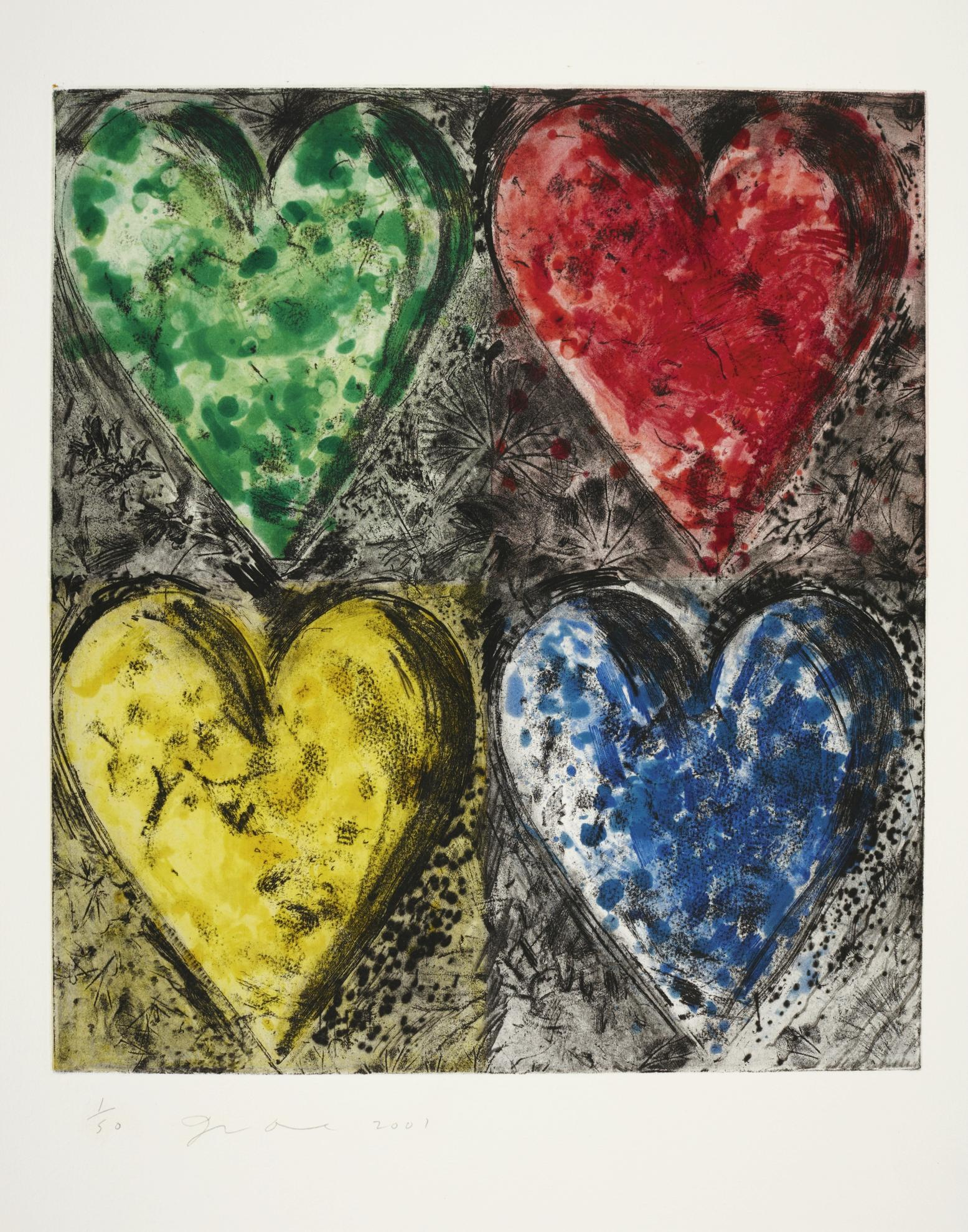 Jim Dine-Watercolour In Galilee-2001