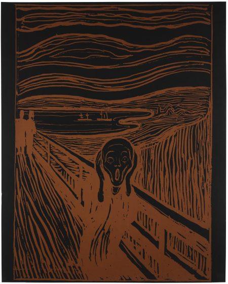 Andy Warhol-The Scream (After Munch) (Feldman & Schellmann IIIa.58)-1984