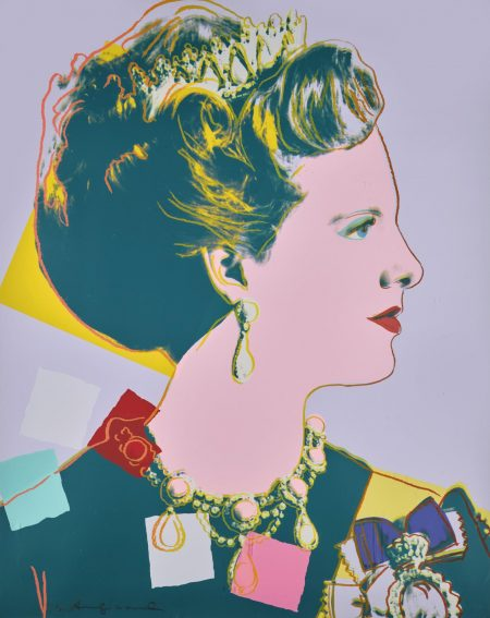 Andy Warhol-Queen Margrethe II Of Denmark (Royal Edition) (F. & S. II.342)-1985