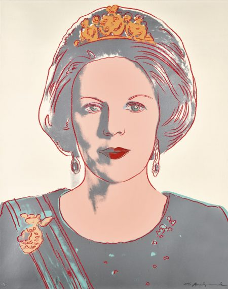 Andy Warhol-Queen Beatrix Of The Netherlands (Royal Edition) (F. & S. II.339)-1985