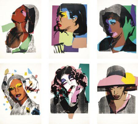 Andy Warhol-Ladies And Gentlemen (F. & S. II.128-137)-1975
