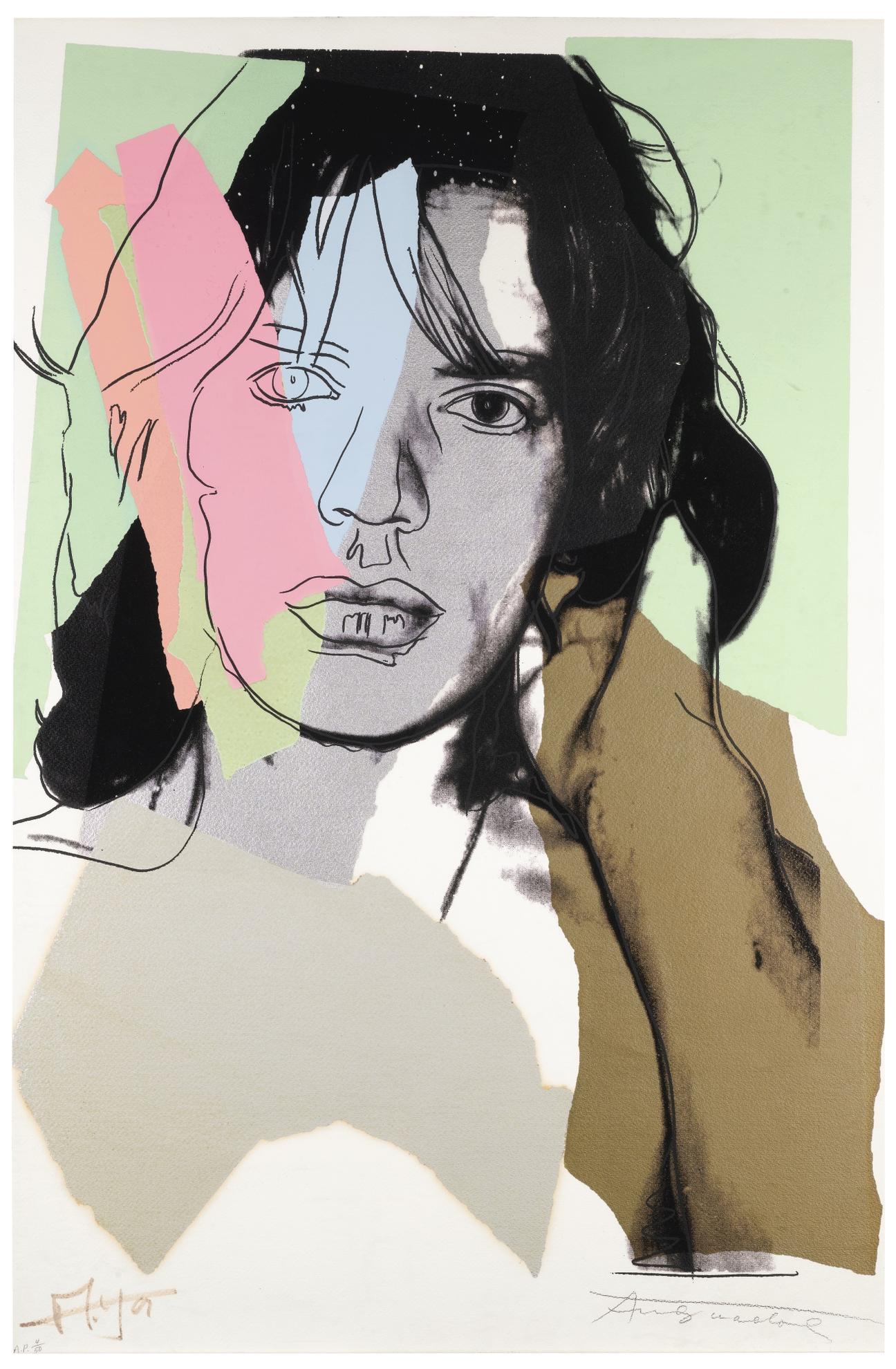 Andy Warhol-Mick Jagger (F. & S. II.140)-1975