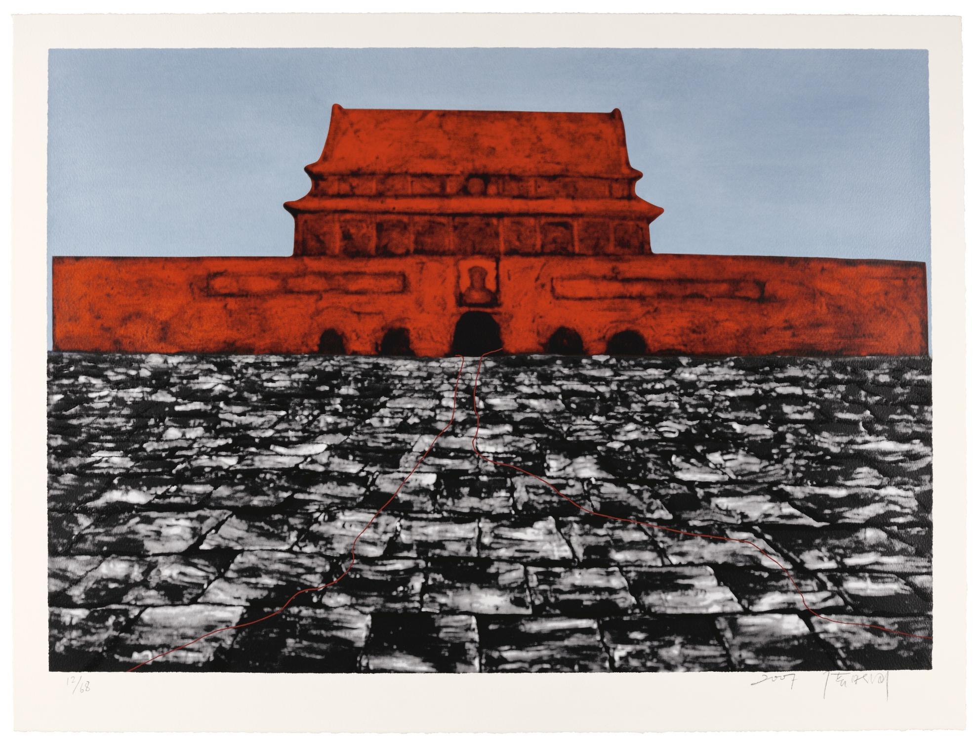 Zhang Xiaogang-Tiananmen Square-2007