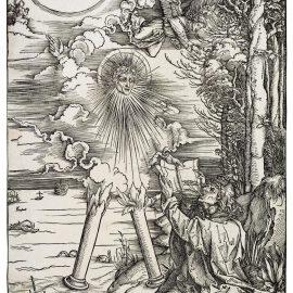 Albrecht Durer-Saint John Devouring The Book (Bartsch 70; Meder, Hollstein 172)-1498