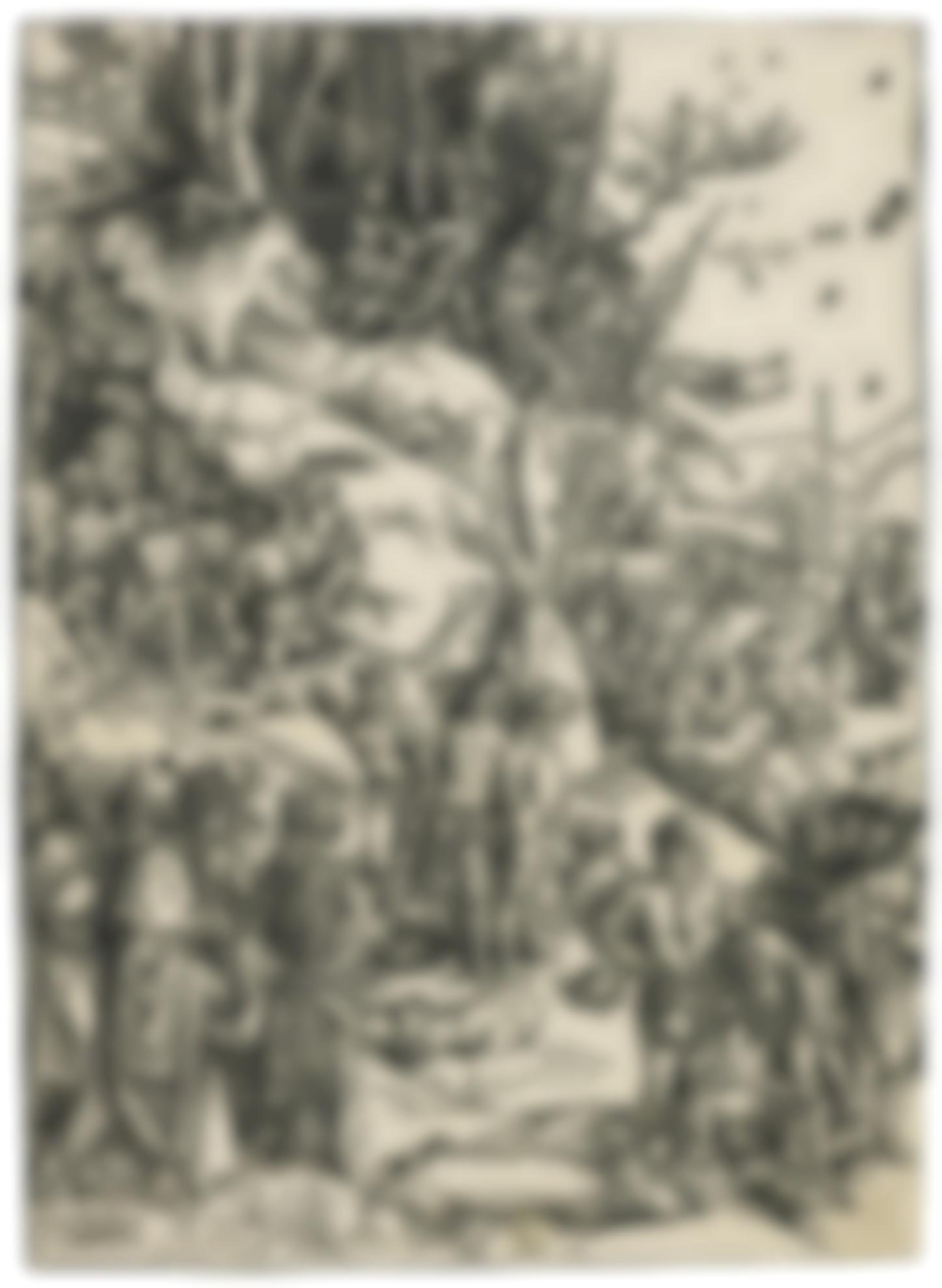 Albrecht Durer-The Martyrdom Of The Ten Thousand (B. 117; M., Holl. 218)-1497
