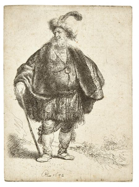 Rembrandt van Rijn-The Persian (B., Holl. 152; New Holl. 110; H. 93)-1632