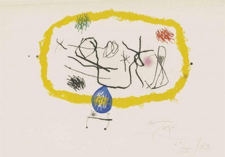 Joan Miro-Personatges Solars-1973
