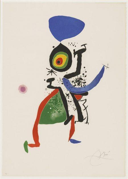 Joan Miro-Joan Miro. Gravats 5 Poemes. Joan Salvat-Papasseit-1974