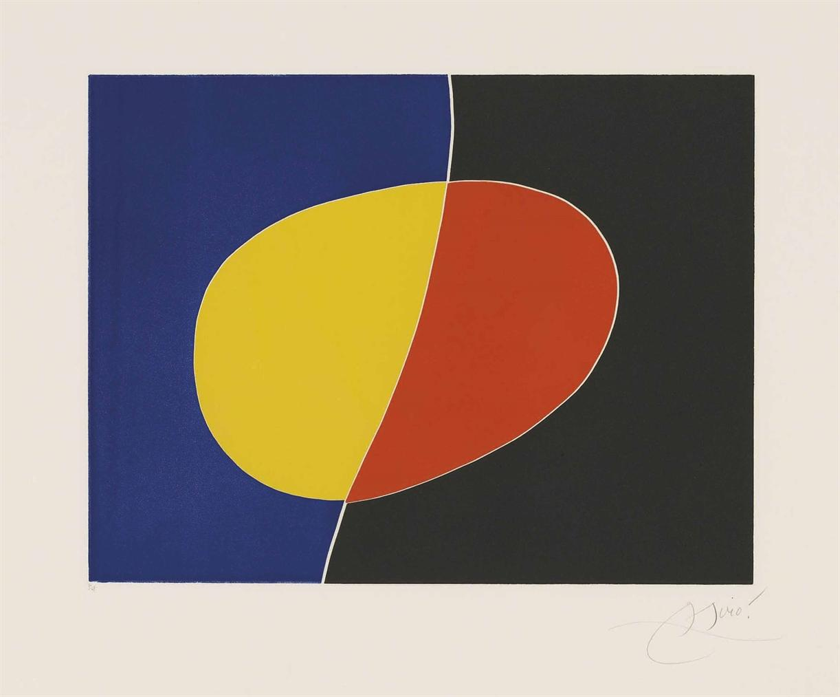 Joan Miro-Plate 2 From: Cantic Del Sol-1975