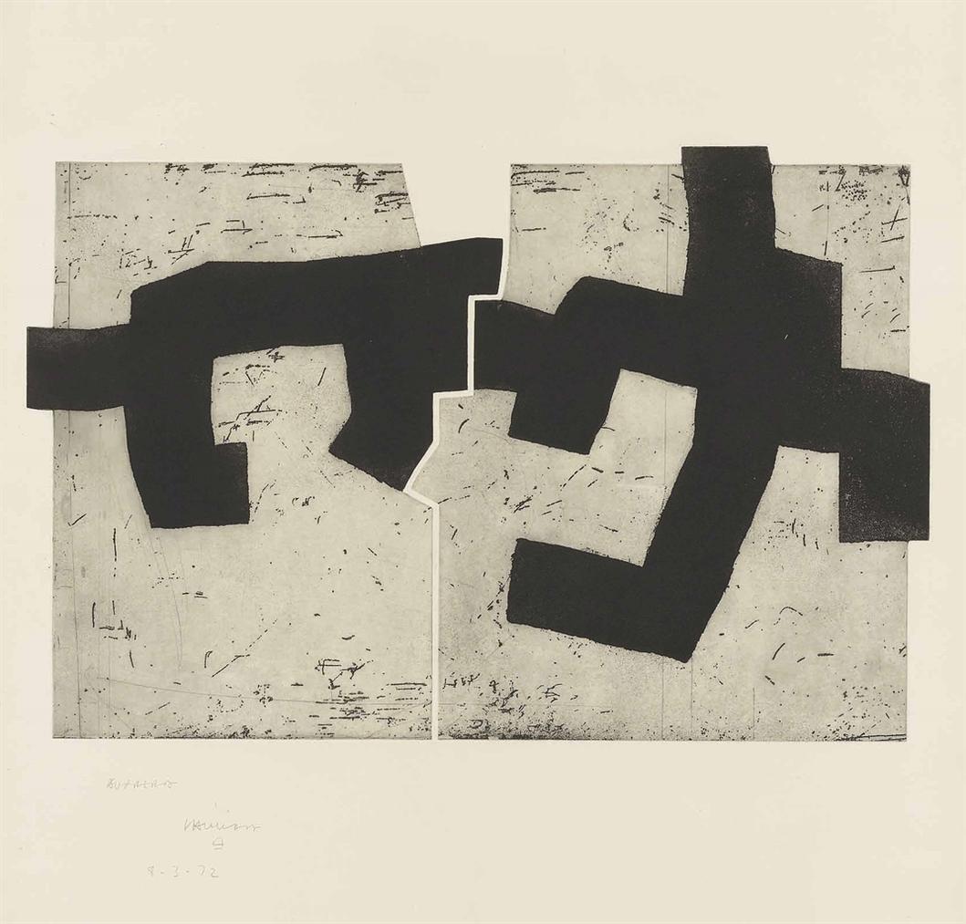 Eduardo Chillida-Aldikatu Iv-1972