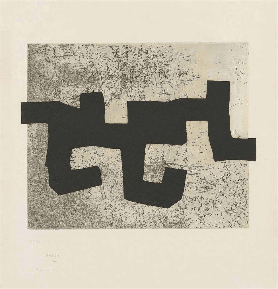 Eduardo Chillida-Aldikatu (Variant)-1972