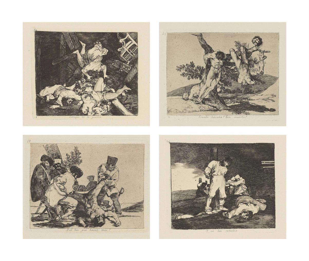 Francisco de Goya-Los Desastres De La Guerra-1820