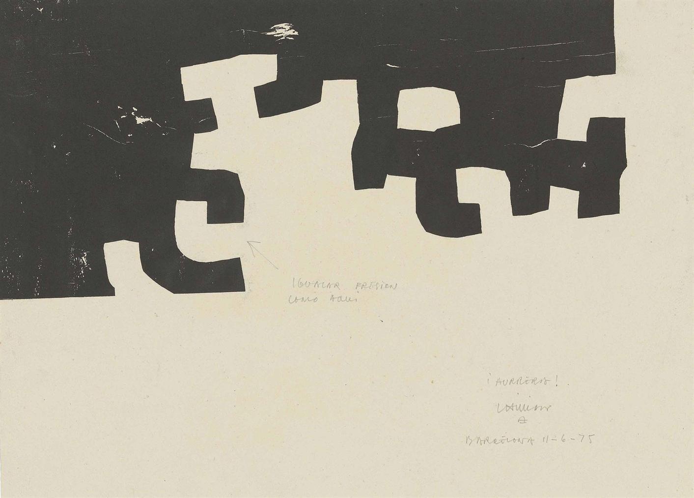 Eduardo Chillida-Untitled-1978