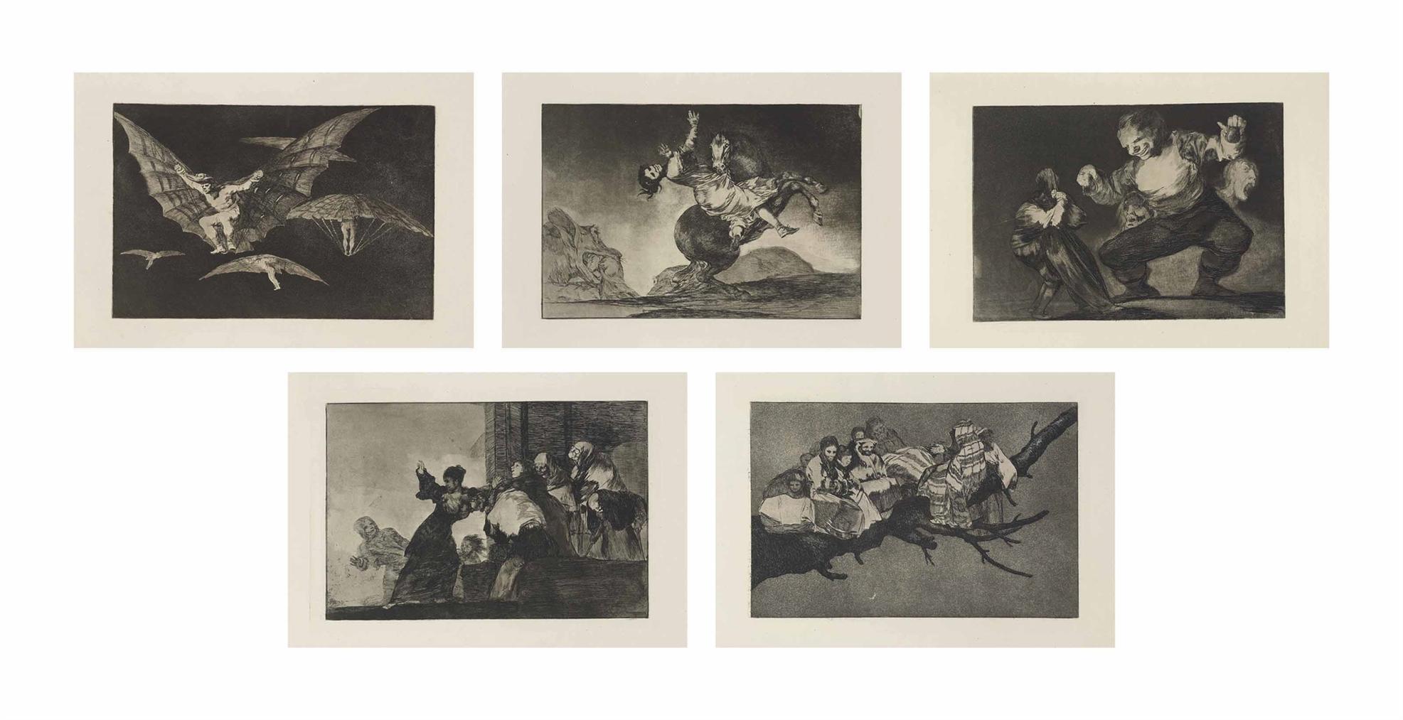 Francisco Jose de Goya y Lucientes - Los Proverbios-1824