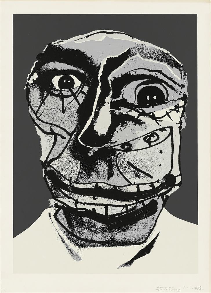 Antonio Saura-Moi-1976
