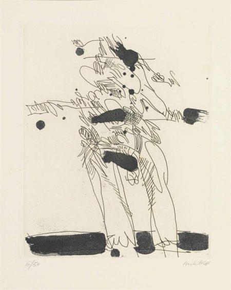 Manolo Millares-Untitled-1970