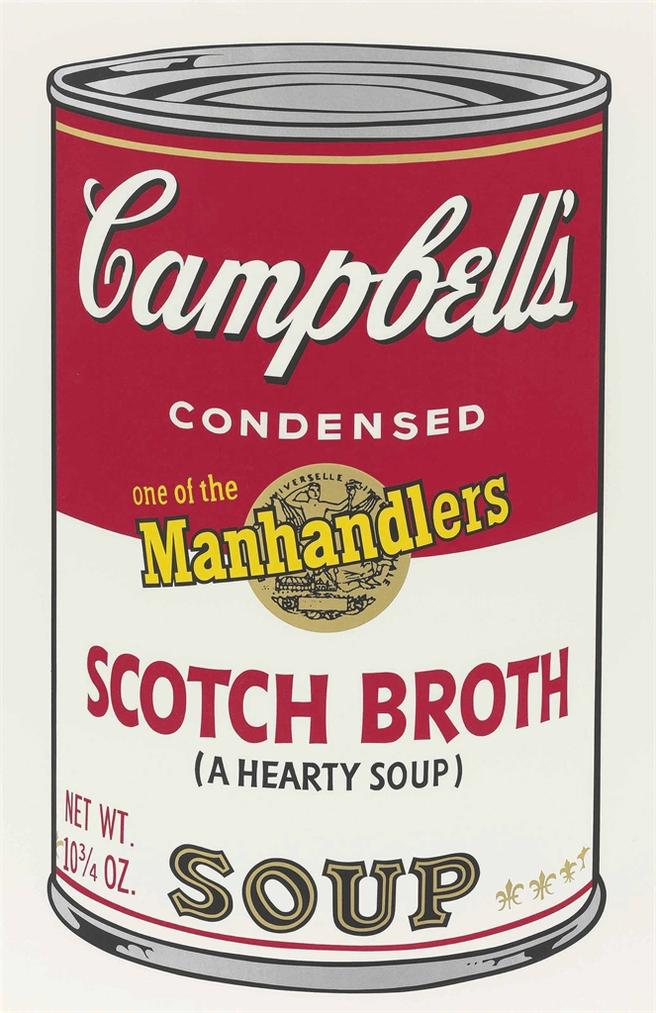 Andy Warhol-Scotch Broth, From: Campbells Soup II-1969