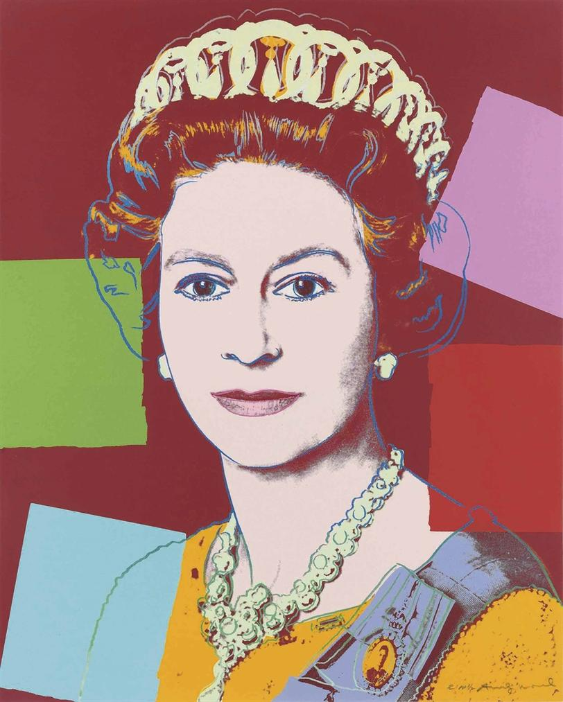 Andy Warhol-Queen Elizabeth II, From: Reigning Queens (Royal Edition)-1985