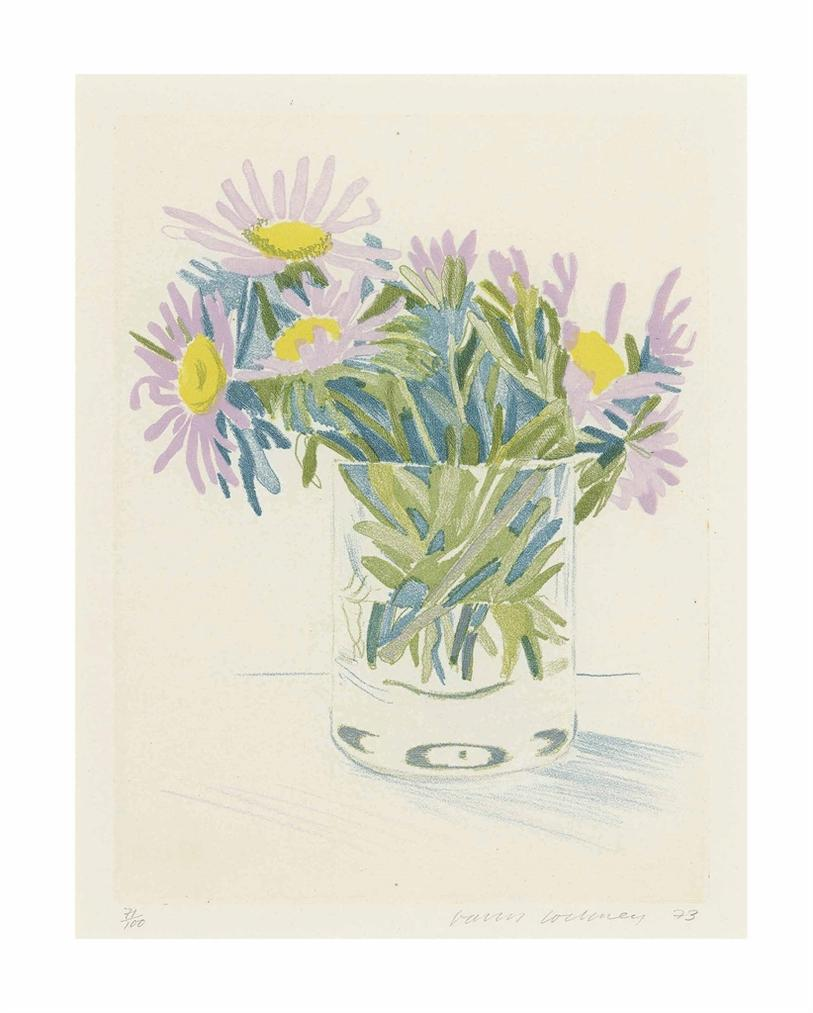 David Hockney-Marguerites-1973