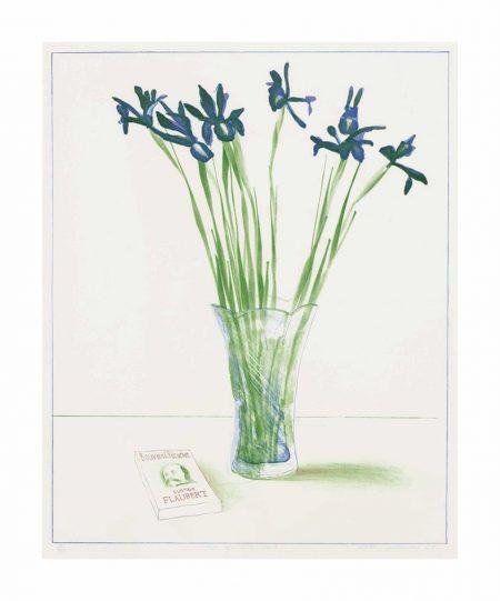 David Hockney-Still Life With Book-1973