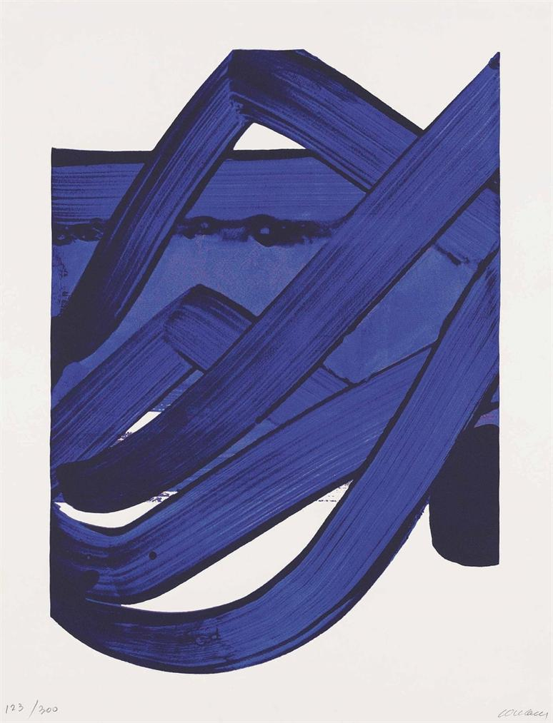 Pierre Soulages-Serigraphie 18-1988