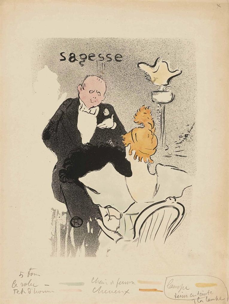 Henri de Toulouse-Lautrec-Sagesse-1893